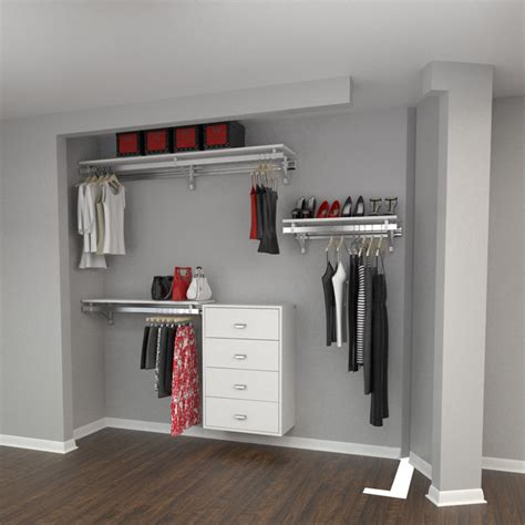 Closet Packages Closet Package 4 Reach In X Large Arrange A Space