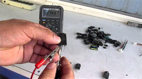 como probar transistores str youtube