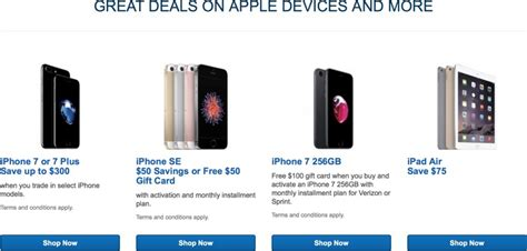 best buy discounts air 2 by 75 offers deals on iphone 7 and iphone se mac rumors