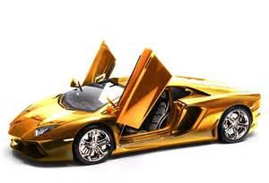 Gold Lamborghini Pictures Gold Lamborghini Aventador Photo 3 13337