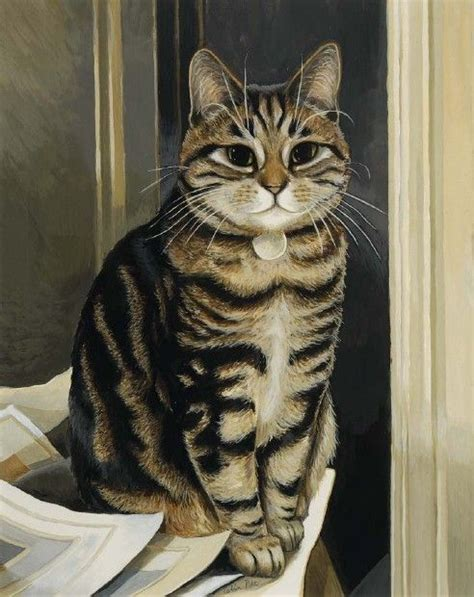 painting cats great cat paintings by celia pike 20 pics picture 18