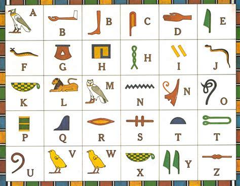imagenes letras egipcias primeromonsalud egipto