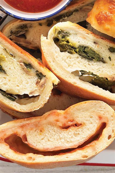 traditional calzone recipe calzone recipe king arthur flour