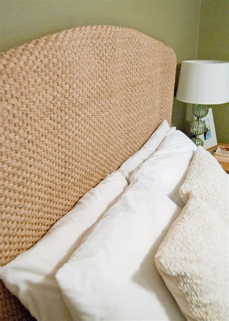 good pottery barn seagrass headboard on seagrass bed
