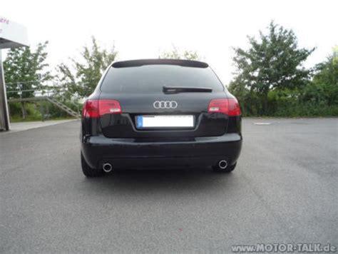Audi A6 4f Auspuffblende by Auspuffblende Endrohrblende Audi A6 4f