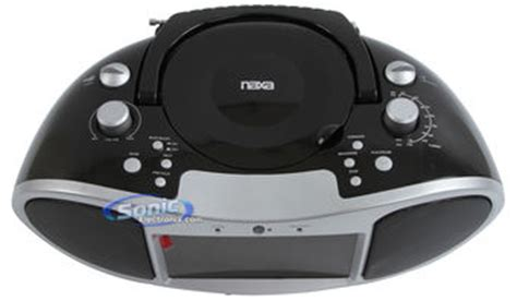 Go Portable Dvd Boom Box Suffers From A Split Personality by Naxa Ndl 252 Portable Cd Dvd Boombox With 7 Quot Lcd Display