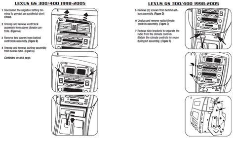 automotive service manuals 1998 lexus lx transmission control 2003 lexus gs300installation instructions