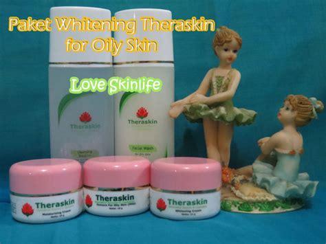 Theraskin Paket Whithening Basic Untuk Kulit Berminyak paket whitening theraskin loveskinlife