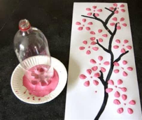 Stempel Tanggal Kadaluarsa Botol Plastik cara membuat kerajinan tangan stempel bergambar bunga dari limbah botol plastik bekas aneka