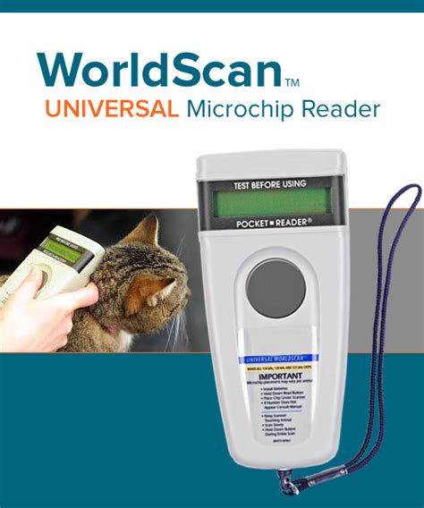 worldscan microchip reader plus microchip id systems
