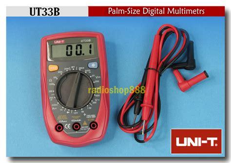 Special Voltmeter Digital Jam Suhu 2 Backlight Volt Meter Vst 4in1 Xtr uni t ut33b digital lcd palm multimeter ohm volt meter ebay