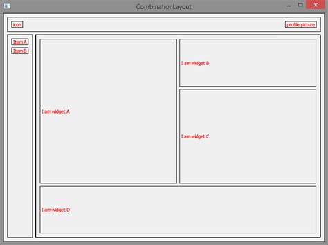 qt layout elements qwidget qt what layout or combination of layout should
