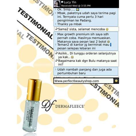 Serum Bulu Mata Wardah dermafleece max growth premium serum pemanjang bulu mata