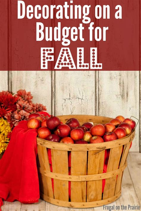 fall decorating on a budget tips for fall decorating on a budget allison lindstrom