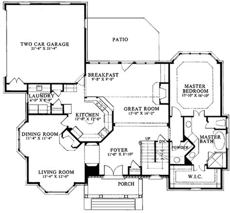american house floor plan american classic 5611ad architectural designs house
