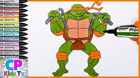 what color is michelangelo michelangelo turtles coloring pages for 4 how