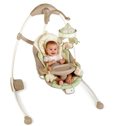 baby swings for boys bright starts ingenuity cradle sway baby swing review