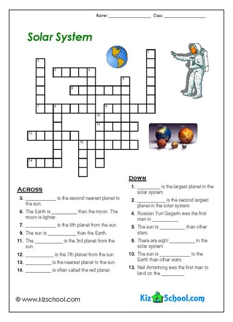 Solar System Worksheet solar system worksheets pics about space