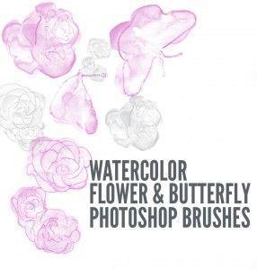 photoshop tutorial watercolor flower 1000 images about photoshop on pinterest watercolor
