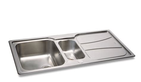 drainer kitchen sinks carron zeta 150 kitchen sink with drainer