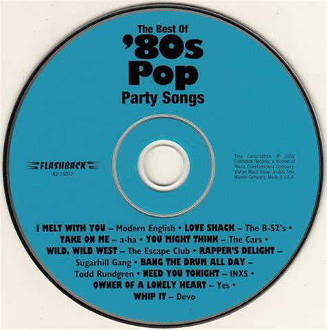 best of 80s pop various the best of 80s pop songs cd at discogs