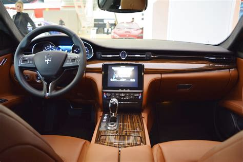 maserati quattroporte interni 2017 maserati quattroporte interior dashboard at 2016