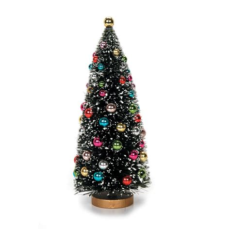 bottle brush christmas trees wholesale bottle brush trees 8 5 inch green sisal tree