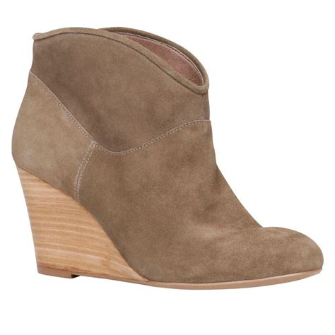 wedge brown boots aldo boots lyst