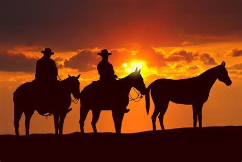 cowboys images cowboys in the sunset hd wallpaper and background