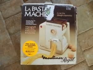 Bread Machine Pasta Moulinex Regal Pasta Dough Maker La Pasta Machine Model