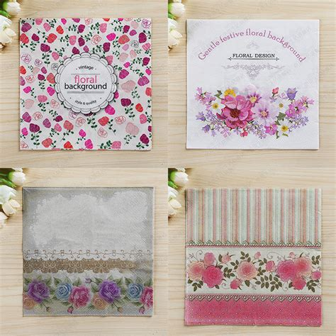 decoupage napkins wholesale buy wholesale flower decoupage from china flower