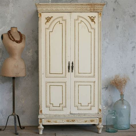 armoire vintage vintage armoire warm weathered cream chambers pinterest