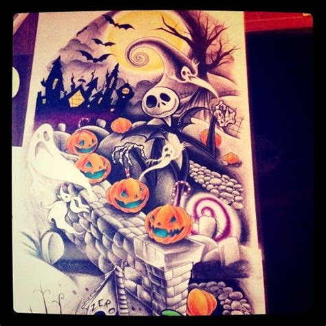 the night before christmas tattoo designs nightmare before design part two