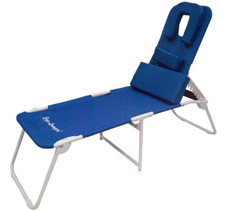 ergonomic chaise ergo lounger chaise with 3 adjustable support pillows