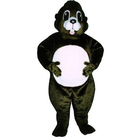 groundhog day costume happy groundhog mascot costume 2822 z team mascots