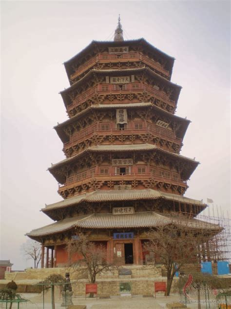 datong yingxian wooden pagoda world s biggest wooden pagoda