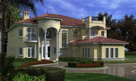 luxury mediterranean home plans plan your home with mediterranean style homes to make it