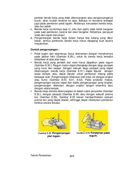 Bor Engkol Tangan teknik pemesinan jilid 2