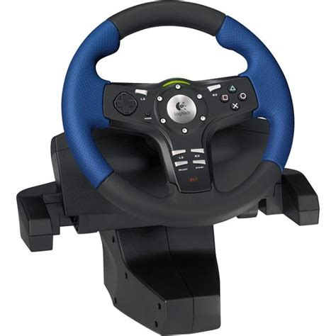 volante playstation logitech driving ex pour playstation 2 volant pc