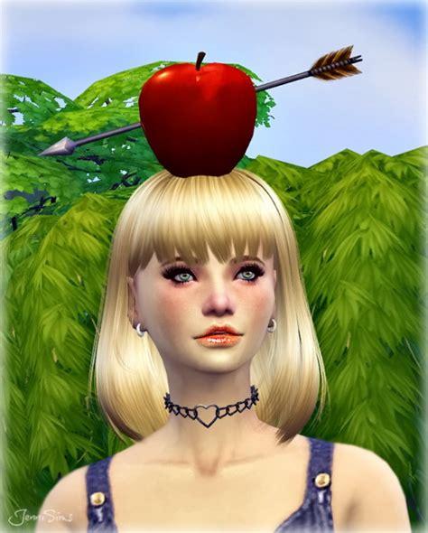 jenni sims new mesh accessory sets bow heart breaker jenni sims new mesh accessory wilhelm tell apple sims 4