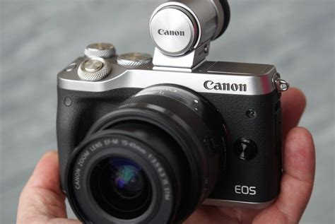 Kamera Canon Eos M6 gadget canon eos m6 andalkan kamera mirrorless dual pixel