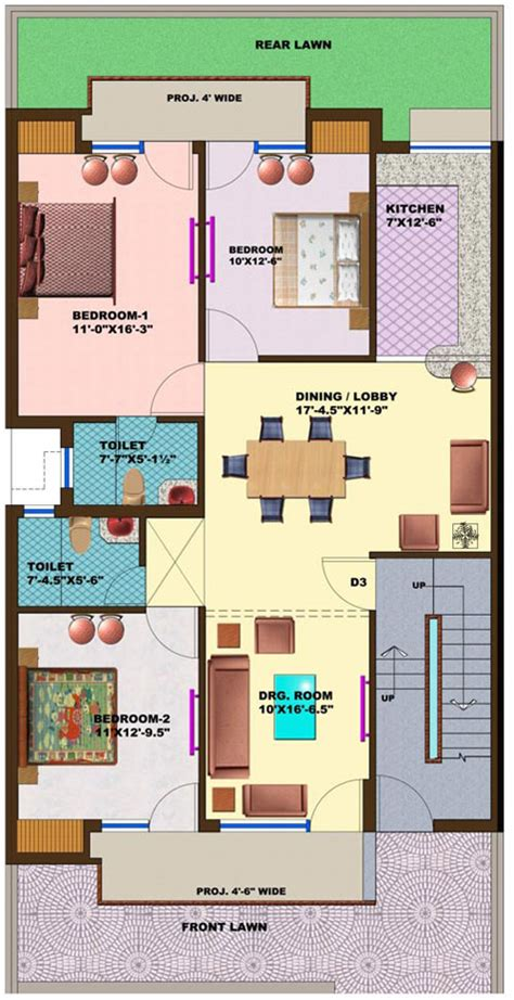 Omaxe Green Meadow City Plots In Bhiwadi 100 Square Yards Duplex House Plans