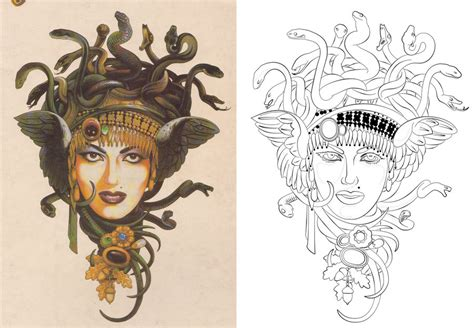 medusa tattoos and designs page 9