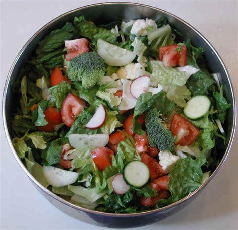 the basic tossed salad an all creatures american international vegetarian vegan recipe