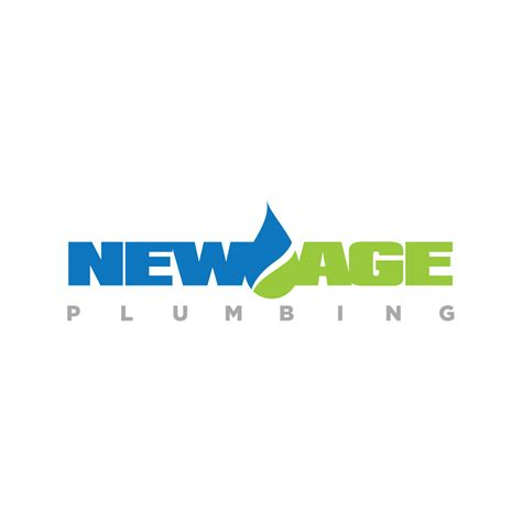 New Age Plumbing - new age plumbing logo design all city graphix
