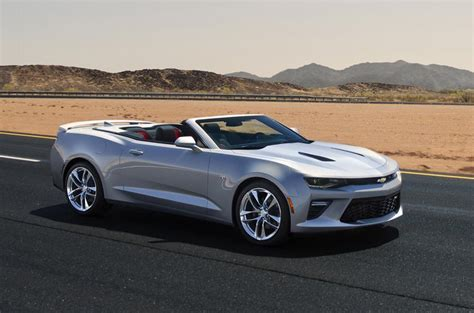new generation camaro 2016 chevrolet camaro convertible revealed autocar