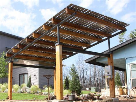 Awning Gazebo Building Integrated Solar Bipv Dynamic Solar Tech