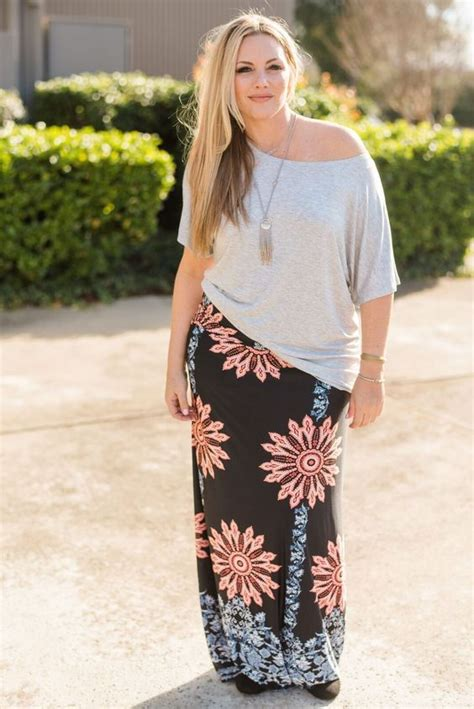 what top to wear with a plus size maxi skirt page 6 of 7