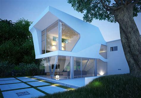3d exterior home design free download 艺术别墅模型 素材中国sccnn com