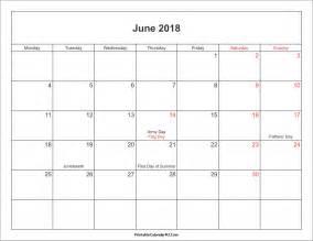 June 2018 Calendar With Holidays June 2018 Calendar Printable With Holidays Pdf And Jpg